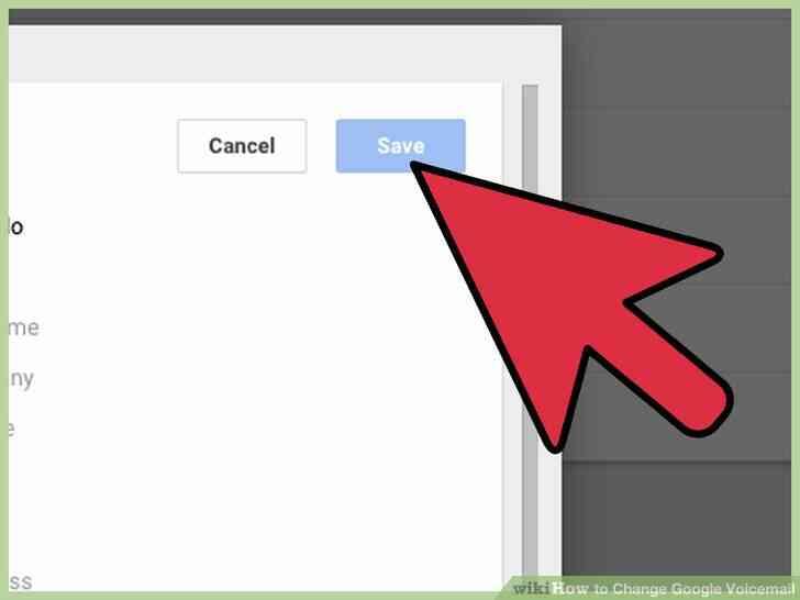 Imagen titulada Cambio de Google de correo de Voz Paso 15