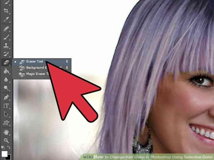 Imagen titulada Cambio de Color de Pelo en Photoshop Utilizando Color Selectivo Paso 9