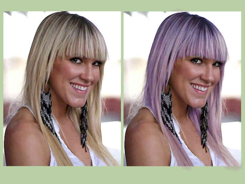 Cómo Cambiar el Color del Pelo en Photoshop Mediante Selectiva de Color