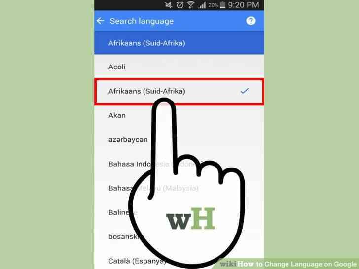 Imagen titulada Cambio de Idioma en Google Paso 15