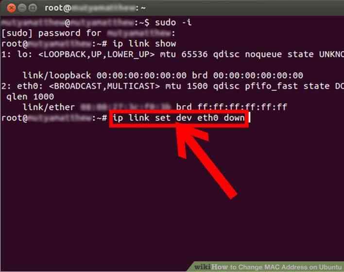 Image titulado Cambio de Dirección MAC en Ubuntu Paso 4