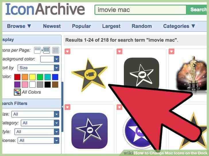 Imagen titulada Cambiar la Mac de los Iconos en el Dock Paso 4
