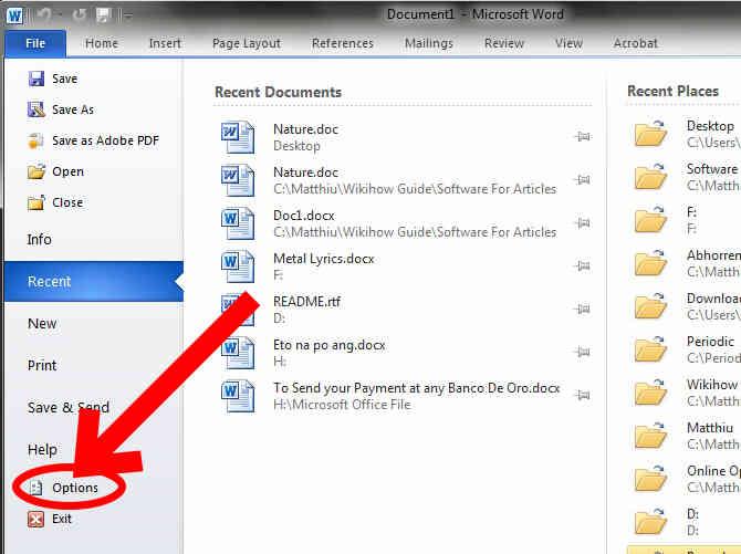 Imagen titulada Cambio de Microsoft Word 2010 Defecto .Doc Paso 3