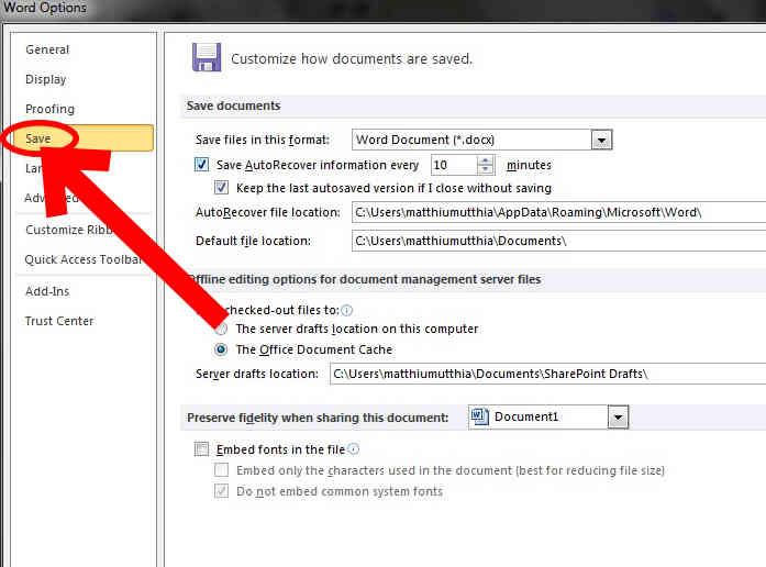 Imagen titulada Cambio de Microsoft Word 2010 Defecto .Doc Paso 4