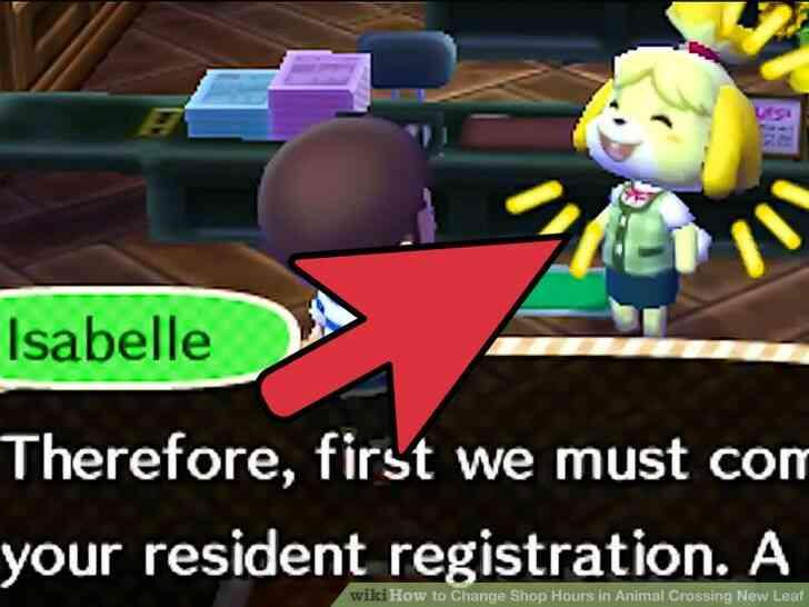 Imagen titulada Cambio de Horario de la Tienda en Animal Crossing New Leaf Paso 6