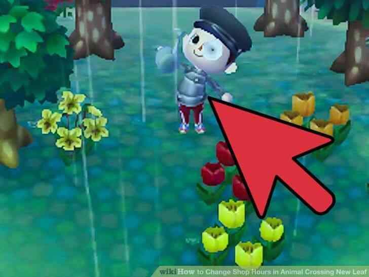 Imagen titulada Cambio de Horario de la Tienda en Animal Crossing New Leaf Paso 3