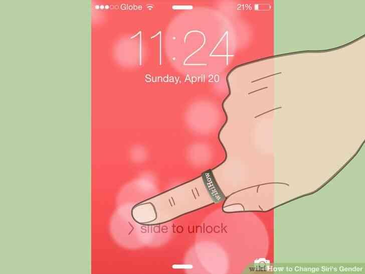 Imagen titulada Cambio de Siri de Género de Paso de 1
