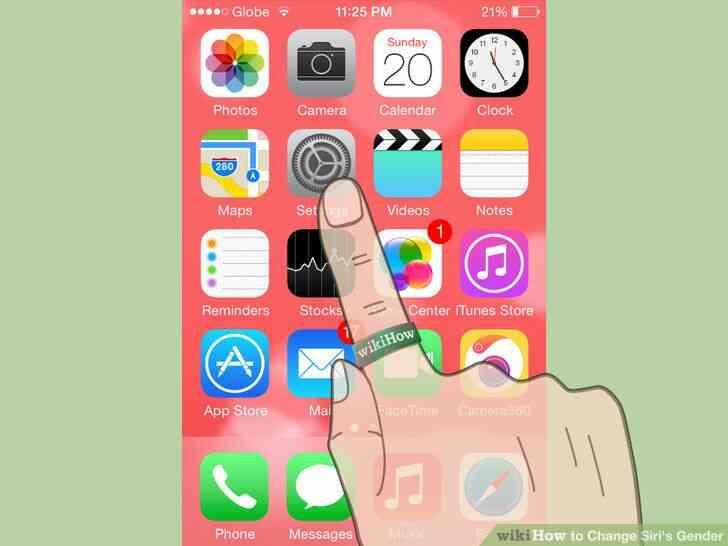 Imagen titulada Cambio de Siri de Género de Paso 2