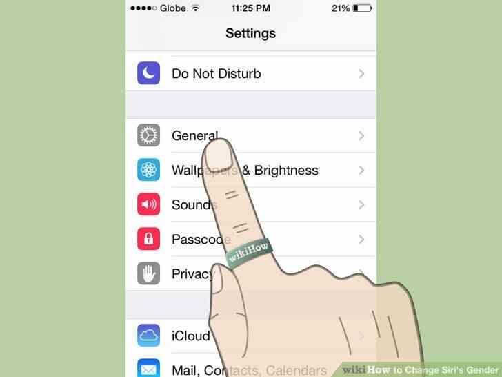 Imagen titulada Cambio de Siri de Género del Paso 3