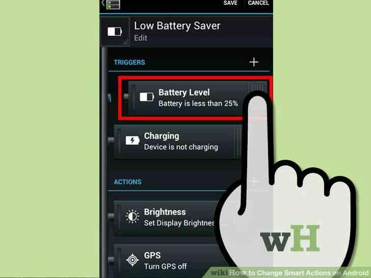 Imagen titulada Cambio de Acciones Inteligentes en Android Paso 5