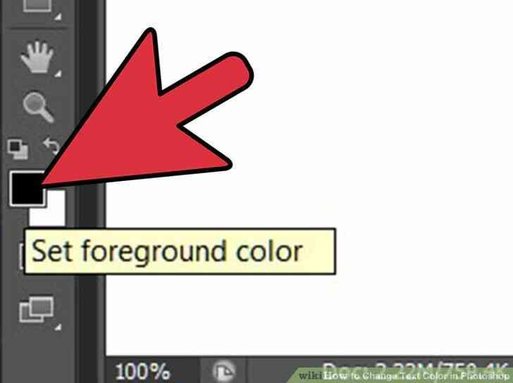 Imagen titulada Cambiar el Color del Texto en Photoshop Paso 2
