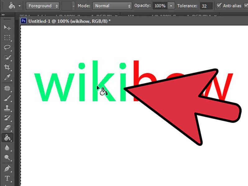 Cómo Cambiar el Color del Texto en Photoshop