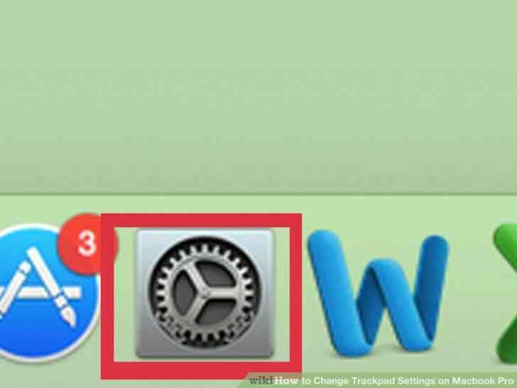 Imagen titulada Cambio de almohadilla táctil Configuración del Macbook Pro Paso 1