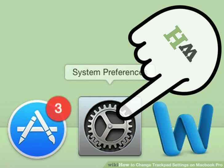 Imagen titulada Cambio de almohadilla táctil Configuración del Macbook Pro Paso 2