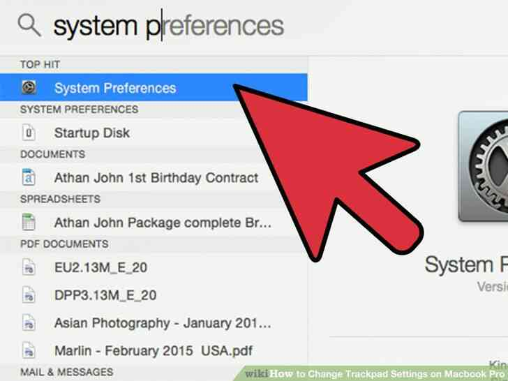 Imagen titulada Cambio de almohadilla táctil Configuración del Macbook Pro Paso 3