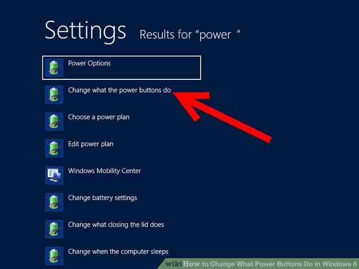Imagen titulada Cambiar Lo Botones de encendido en Windows 8 Paso 2