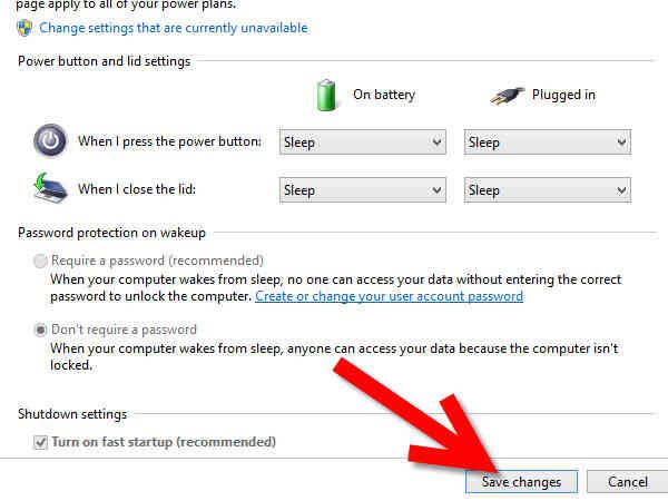 Cómo Cambiar Lo que Hacer los Botones de encendido en Windows 8