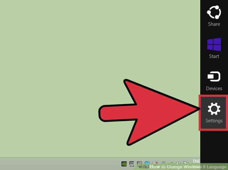 Imagen titulada Cambio de Idioma de Windows 8 Paso 1