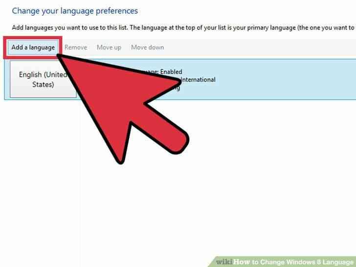 Imagen titulada Cambio de Idioma de Windows 8 Paso 4