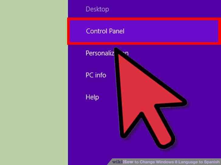Imagen titulada Cambio de Idioma de Windows 8 a Paso español 7
