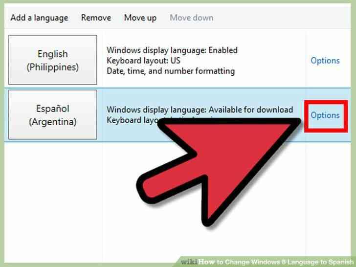 Imagen titulada Cambio de Idioma de Windows 8 a Paso español 16