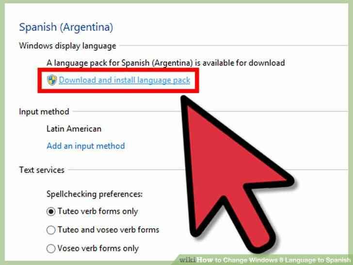 Imagen titulada Cambio de Idioma de Windows 8 a Paso español 17