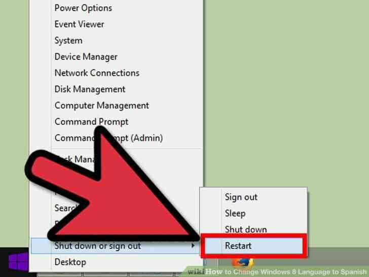 Imagen titulada Cambio de Idioma de Windows 8 a Paso español 18