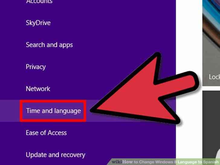 Imagen titulada Cambio de Idioma de Windows 8 para español Paso 3