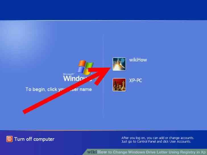 Imagen titulada Cambiar la Letra de Unidad de Windows Utilizando el Registro en Xp Paso 1