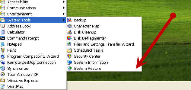 Imagen titulada Cambio de XP Contraseña de Administrador Mediante la Restauración del Sistema Paso 5