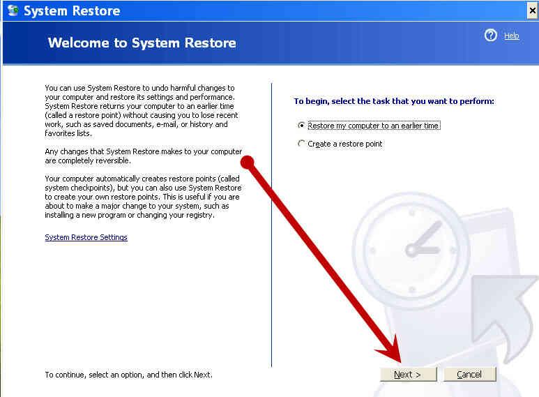 Cómo Cambiar XP Contraseña de Administrador Mediante la Restauración del Sistema