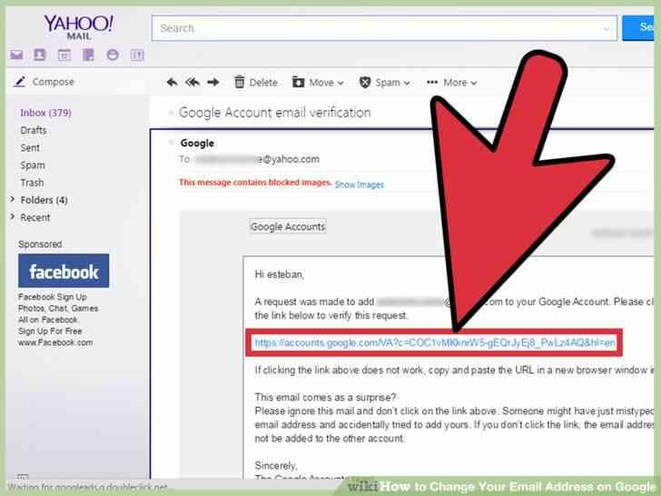 Imagen titulada Cambiar Su Dirección de Correo electrónico en Google Paso 6