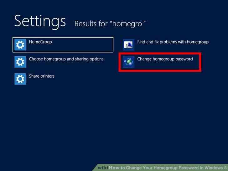 Imagen titulada Cambio de grupo en el Hogar Contraseña en Windows 8 Paso 2