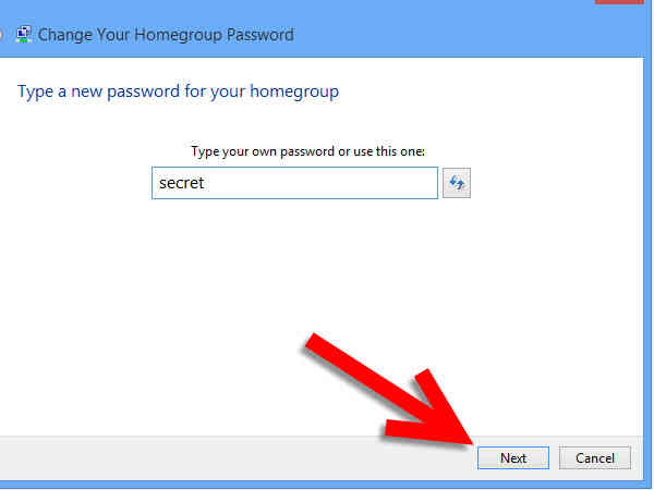 Imagen titulada Cambio de grupo en el Hogar Contraseña en Windows 8 Paso 5