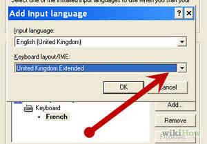 Imagen titulada Cambiar el Teclado de NOSOTROS a reino unido (Windows XP) Paso 4