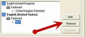 Imagen titulada Cambiar el Teclado de NOSOTROS a reino unido (Windows XP) Paso 5