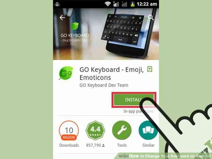 Imagen titulada Cambiar de Teclado en Android Paso 1
