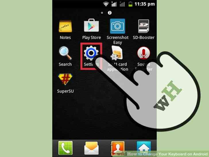 Imagen titulada Cambiar de Teclado en Android Paso 2