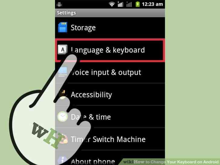 Imagen titulada Cambiar de Teclado en Android Paso 3