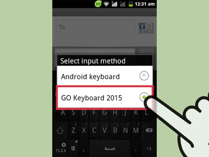Cómo Cambiar el Teclado en Android