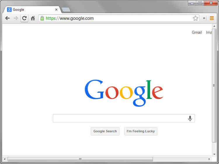 Cómo Cambiar la Ubicación de la Configuración de uso Compartido en Google Chrome
