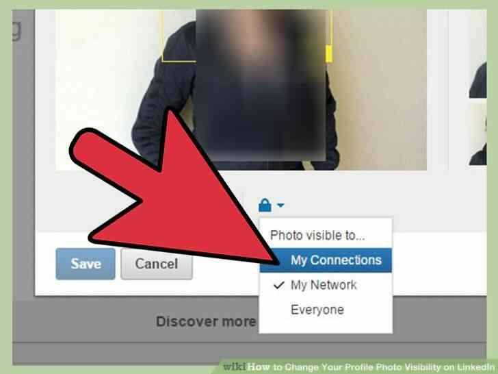 Imagen titulada Cambiar Tu Foto de Perfil de la Visibilidad en LinkedIn Paso 7