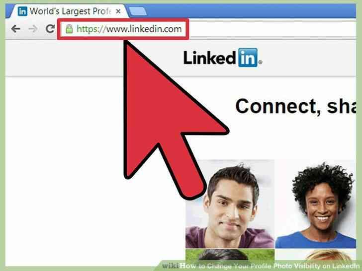 Imagen titulada Cambiar Tu Foto de Perfil de la Visibilidad en LinkedIn Paso 2