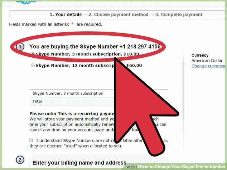 Imagen titulada Cambiar Tu Skype Número de Teléfono Paso 9