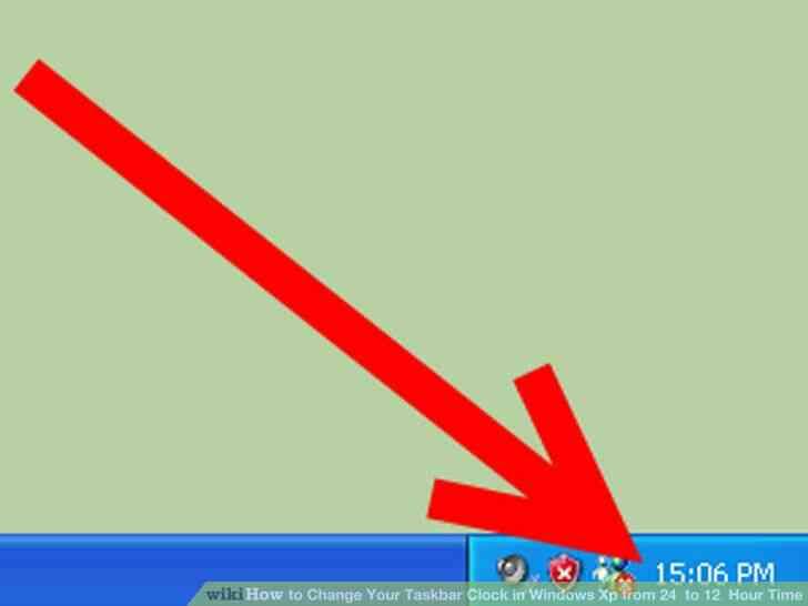 Imagen titulada Cambiar Su Reloj de la Barra de tareas en Windows Xp de 24 a 12 Horas de Tiempo de Paso de 6