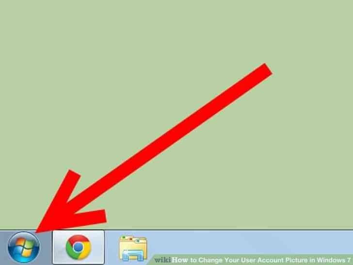 Imagen titulada Cambiar Su Imagen de Cuenta de Usuario en Windows 7 Paso 1