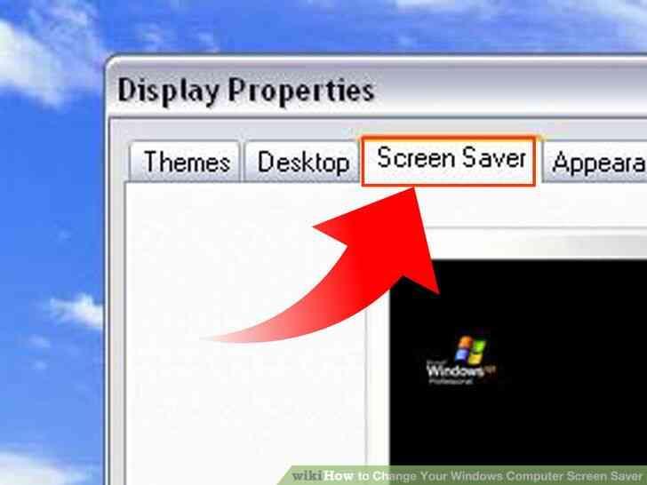 Imagen titulada Cambio de Su Ordenador con Windows Protector de Pantalla de Step 7