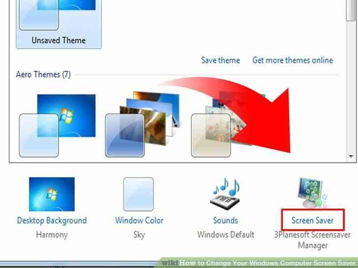 Imagen titulada Cambio de Su Ordenador con Windows Protector de Pantalla Paso 12