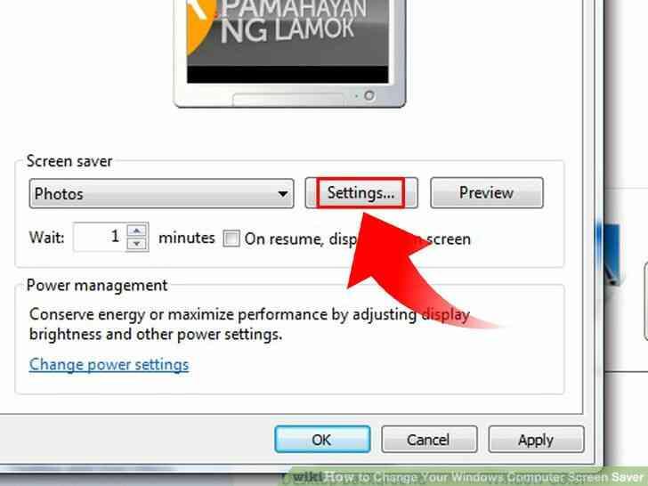 Imagen titulada Cambio de Su Ordenador con Windows Protector de Pantalla Paso 17