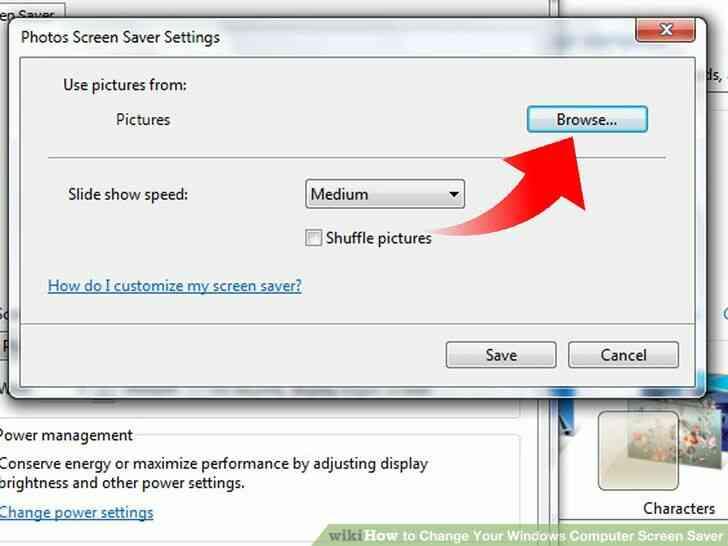 Imagen titulada Cambio de Su Ordenador con Windows Protector de Pantalla Paso 18
